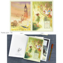 Peter pan 02 - Cute illustration school lined notebook
