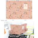 Willow pink - Cute illustration school lined notebook