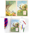 Peter pan 03 - Cute illustration school lined notebook