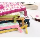 Detail of Pour vous melody zipper pencil pouch