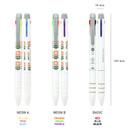 Size of Un jour de reve triple 3 colors in 1 pen