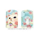 Heaven - Choo choo cat petite luggage name tag