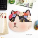 Secret night - Choo Choo cute cat friends mouse pad