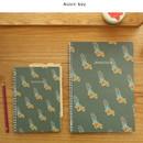 Acorn boy - Jam Jam wirebound drawing notebook