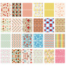 Composition of Pattern small label sticker set
