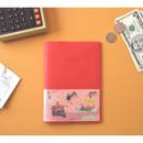 Red - Jam Jam cash book planner note