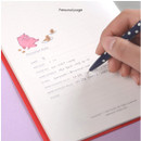 Personal page - Jam Jam cash book planner note