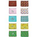 Colors of Le petit pattern zipper pouch