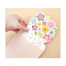 Flower bouquet letter paper and envelope set