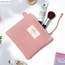 Indi pink - Wish blossom mind small zipper pouch