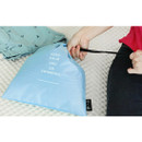 Sky blue - Go swimming drawstring waterproof pouch ver.2