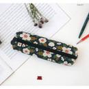 Navy - Breezy windy nemo flower pattern pencil case