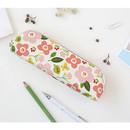 Breezy windy semo flower pattern pencil case