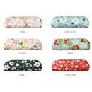 Colors of Breezy windy semo flower pattern pencil case