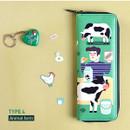 Animal farm - Du dum zip around pen case
