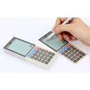 Electronic calculator memo pad