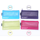 Colors of Life is beautiful travel slim mesh pouch
