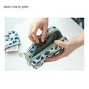 Rain flower_Navy