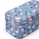Detachable zippered pouch