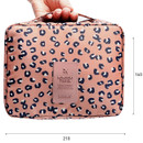 Size of Pattern travel mesh multi pouch bag packing aids