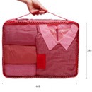 Size of Pattern travel clothes mesh bag packing aids - Large