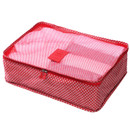 Pattern travel clothes mesh bag packing aids - Large