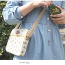 Boiled egg - Livework Jam Jam pattern side messenger bag