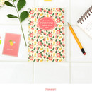 Hawaiian - Pour vous melody lined notebook small