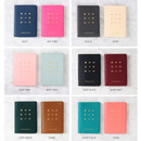 Colors of Wannabe pictogram travel RFID blocking passport case