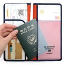 Passport pocket - Classy plain RFID blocking long passport case