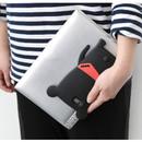 Black - Monowave cute bear moya iPhone 6 jelly case