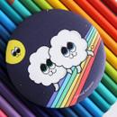 Rainbow - Second mansion round handy mirror