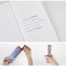 Colors of Rainbow vivid color gel pen 0.38mm set of 5