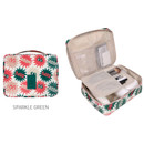 Sparkle green - Merrygrin travel mesh multi pouch bag packing aids