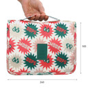Size of Merrygrin travel hanging toiletry pouch bag