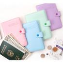 365 Traveler pastel passport case
