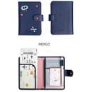 Indigo - Merrygrin RFID blocking small passport case