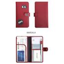 Marsala - Merrygrin RFID blocking long passport case