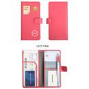 Hot pink - Merrygrin RFID blocking long passport case