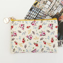 Bouquets - Blossom garden small zipper pouch
