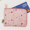 Paulie - Blossom garden half zip around pocket wallet