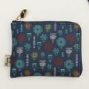 Fiori - Blossom garden half zip around pocket wallet