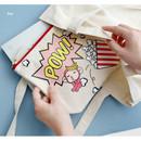Rey - Hellogeeks pop art canvas pouch