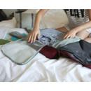 Ice gray - Travelus mesh packing organizer bag XL ver.2