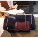 Dark navy - Travelus mesh packing organizer bag XL ver.2