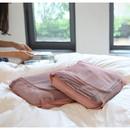 Soft pink - Travelus mesh packing organizer bag XL ver.2