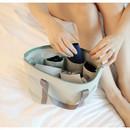 Ice gray - Travelus water resistant underwear bag ver.2