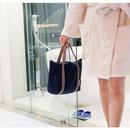 Navy - Travelus water resistant underwear bag ver.2