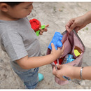 Soft pink - Travelus water resistant underwear bag ver.2