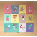 Big point paper sticker set 02